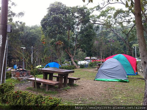 斗六童子軍在中正露營區