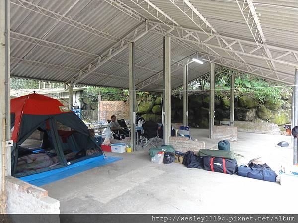 頂棚露營區