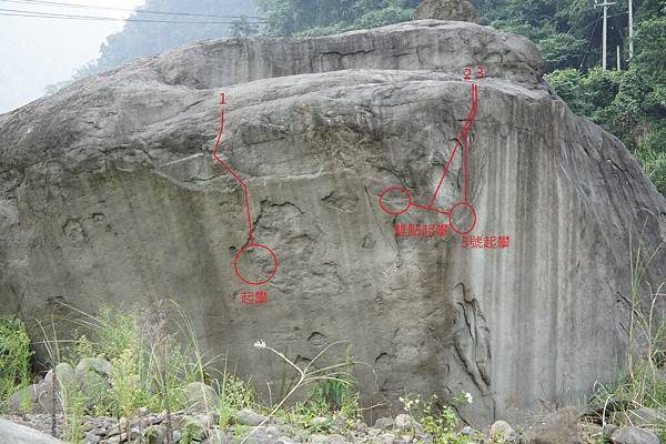 B區  B-1 路線圖