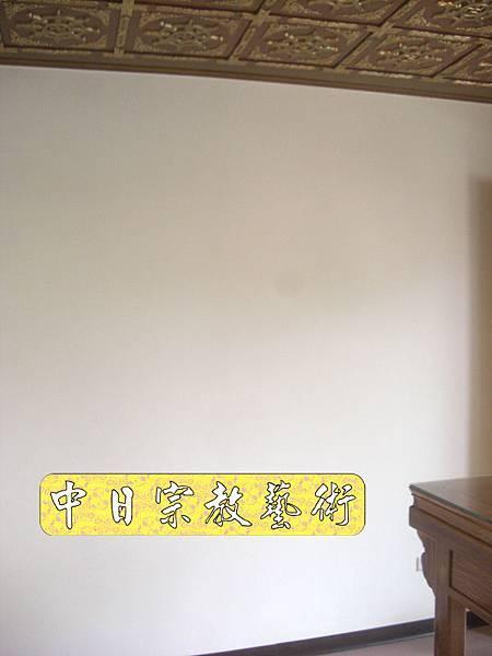 柚木明式供桌 手繪西方三聖神桌佛桌神像佛像神聯佛聯N5304E.jpg