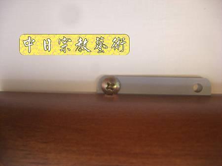柚木明式供桌 手繪西方三聖神桌佛桌神像佛像神聯佛聯N5321e.jpg