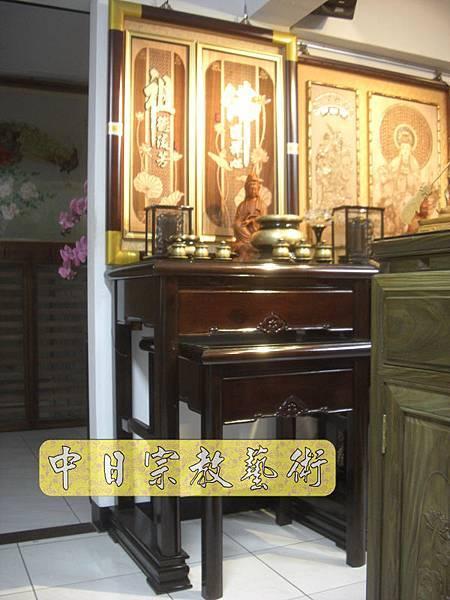 時尚神桌精品 居家小佛堂 2尺9供桌 佛道禪心精裝版N6003e.jpg