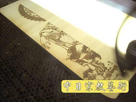 實木觀音像心經木雕藝品經文掛飾H3512.JPG