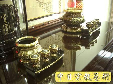 F1702.5.5吋金蓮爐(古銅色)神明爐祖爐.JPG