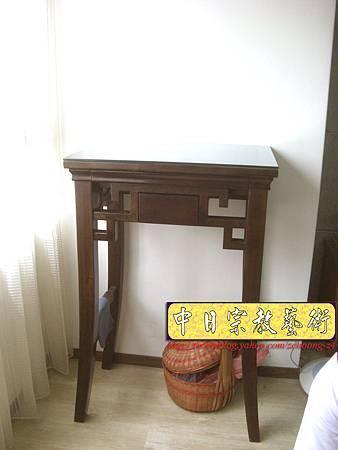 N8807.居家小型佛桌擺設 (2尺28寬)