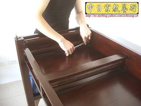 N9609.紫檀直腳如意神桌 5尺1可拆解式佛桌