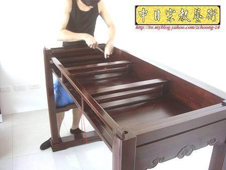 N9610.紫檀直腳如意神桌 5尺1可拆解式佛桌