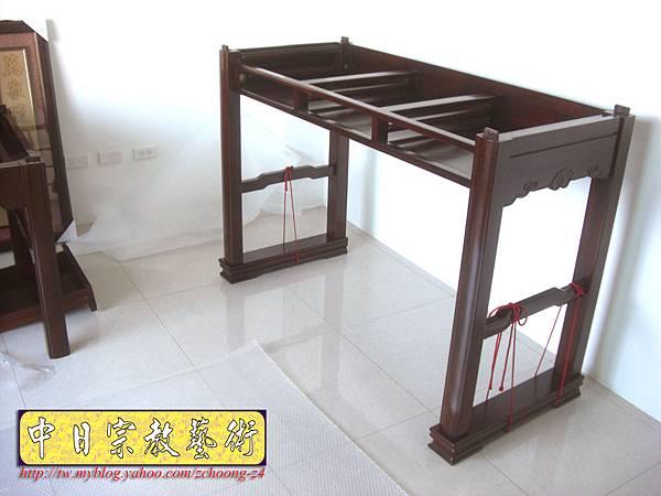 N9611.紫檀直腳如意神桌 5尺1可拆解式佛桌