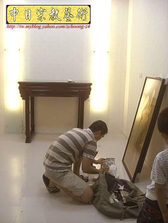 N9806.紅木明式神桌佛桌 大佛字 心經 大悲咒經文木匾雕刻(中國醫藥大學)