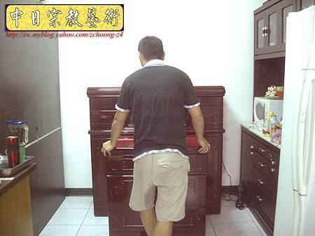 N10014.紅木櫃型神桌佛桌 佛道禪心實木雕刻神聯佛聯 水晶蓮花燈