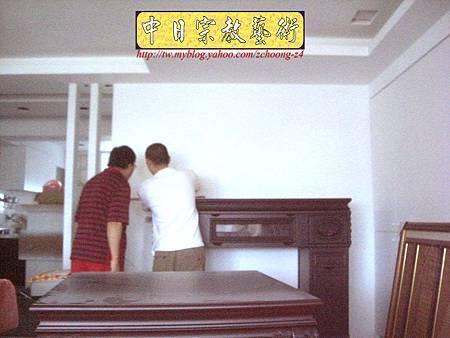 N10510.廂櫃神桌 電腦雷射雕刻神聯佛心 祖德