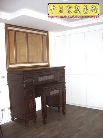 N10528.廂櫃神桌 電腦雷射雕刻神聯佛心 祖德