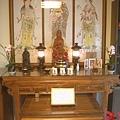 N12910.西方三聖佛堂佛桌 與公媽桌實力擺設參考