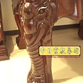 N13205.大象頭神桌桌腳 泰國佛半浮雕佛聯