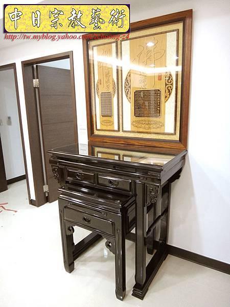 M5601.黑紫檀神桌佛桌3尺6寬(神桌腳與桌面可拆解).JPG