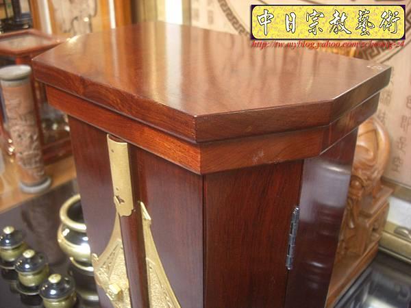 M6003.日式神龕佛龕 小型日蓮教佛桌 日式佛桌.JPG