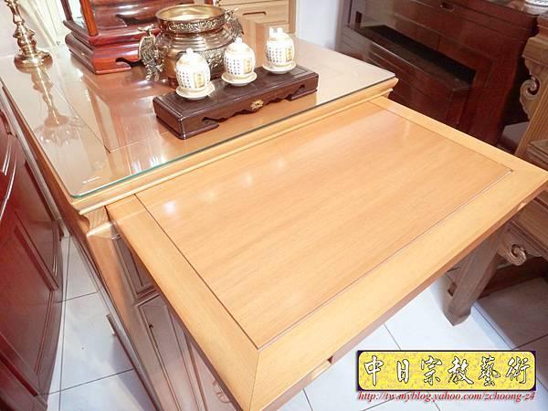 M6706.2尺檜木櫃型神桌 小型公媽桌佛桌.JPG