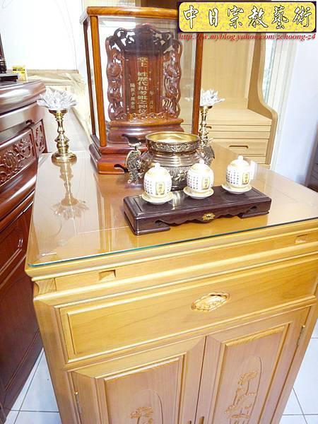 M6707.2尺檜木櫃型神桌 小型公媽桌佛桌.JPG