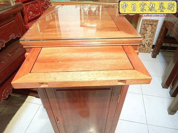 M6806.1尺58小尺寸神桌 花梨木小佛桌.JPG