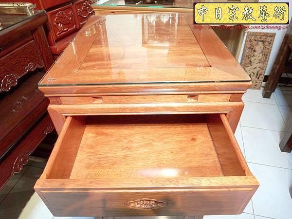 M6807.1尺58小尺寸神桌 花梨木小佛桌.JPG