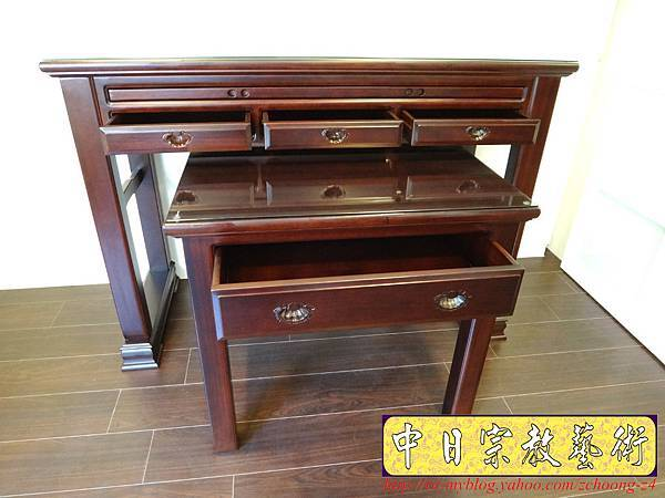 M7002.新式神桌製作 烏心石木 五抽屜佛桌.jpg
