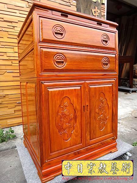 M7201.柚木公媽櫃神桌2尺2寬.JPG