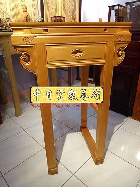 N7401.小神桌樣式~2尺2檜木小佛桌.JPG