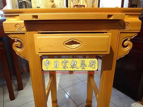 N7403.小神桌樣式~2尺2檜木小佛桌.JPG