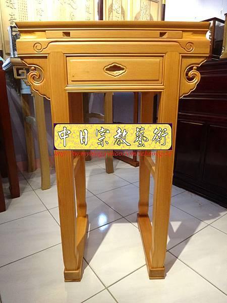 N7407.小神桌樣式~2尺2檜木小佛桌.JPG