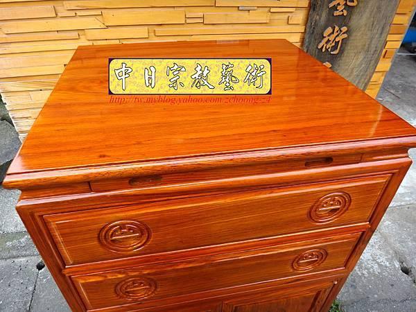 M7207.柚木公媽櫃神桌2尺2寬.JPG