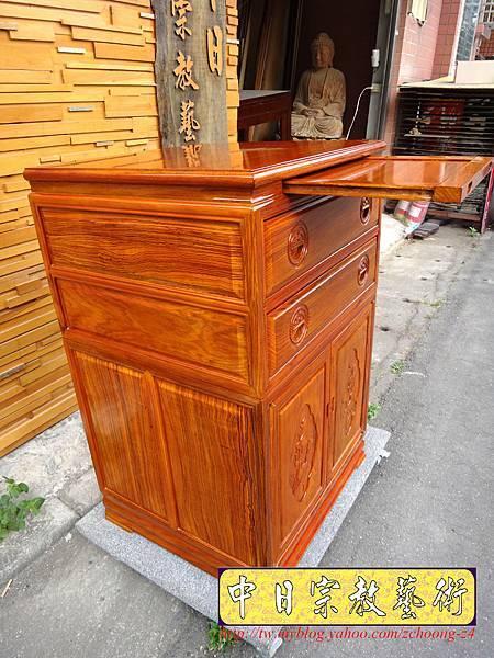 M7212.柚木公媽櫃神桌2尺2寬.JPG