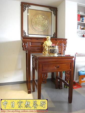 N15601.明式3尺6神桌樣式 拜土地公神聯樣式精選.JPG
