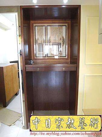 N17102.居家神桌神明櫥設計~裝潢式佛桌佛櫥2尺9.JPG