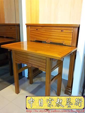 N18101.訂做神桌公媽桌 特殊尺寸佛桌訂製 ~如意桌高4尺2寬3尺5深1尺58.jpg