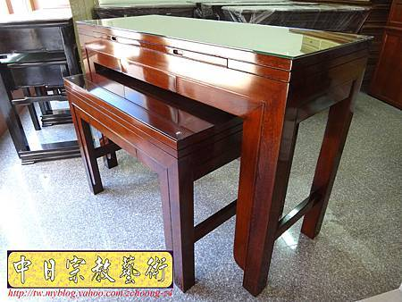 M7501.時尚神桌款式 5尺1日式雞翅木佛桌.JPG