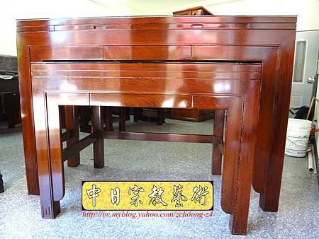 M7502.時尚神桌款式 5尺1日式雞翅木佛桌.JPG