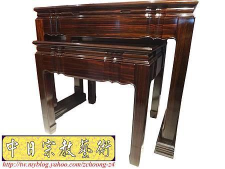 M8101.絕版高級黑檀木神桌佛桌.JPG