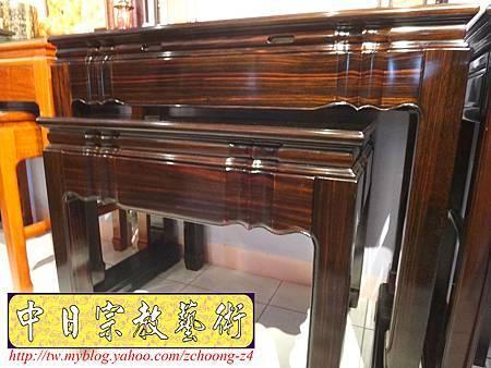 M8102.絕版高級黑檀木神桌佛桌.JPG
