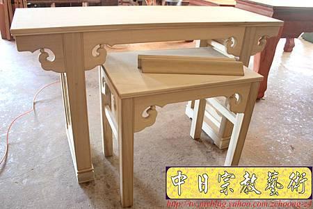 M8901.仿古式神桌佛桌系列 5尺8烏心木.JPG