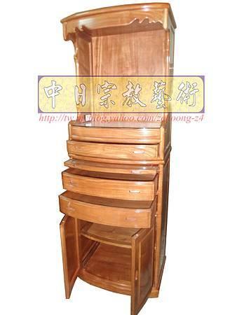 M9202.小尺寸神桌神明櫥佛櫥公媽櫥~寬2尺2高度6尺4實木製作.JPG