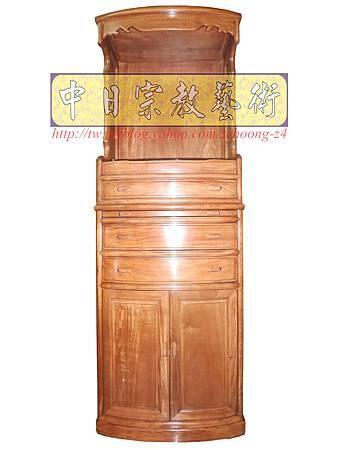 M9204.小尺寸神桌神明櫥佛櫥公媽櫥~寬2尺2高度6尺4實木製作.JPG