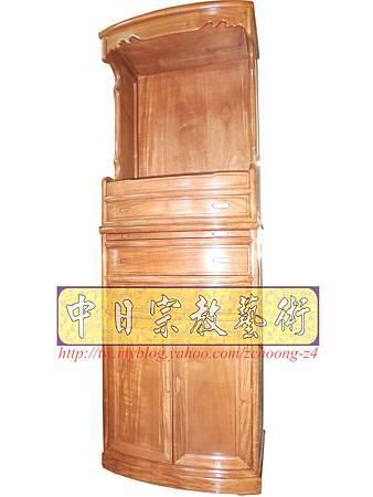 M9206.小尺寸神桌神明櫥佛櫥公媽櫥~寬2尺2高度6尺4實木製作.JPG