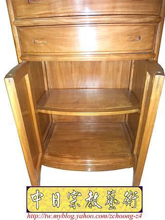 M9207.小尺寸神桌神明櫥佛櫥公媽櫥~寬2尺2高度6尺4實木製作.JPG