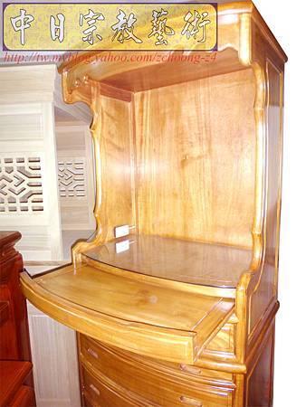 M9211.小尺寸神桌神明櫥佛櫥公媽櫥~寬2尺2高度6尺4實木製作.JPG