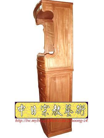 M9221.小尺寸神桌神明櫥佛櫥公媽櫥~寬2尺2高度6尺4實木製作.JPG