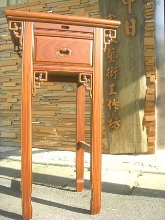 M10001.天然柚木小神桌 2尺小佛桌公媽桌.JPG