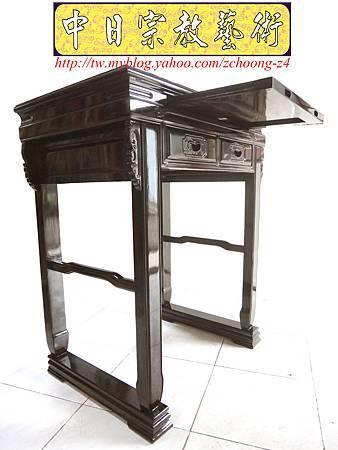 M10301.2尺9神桌樣式 黑紫檀佛桌.JPG