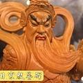 L2502.樟木迦藍護法關公關聖帝君(二度8寸8).JPG