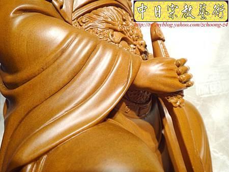 L2910.北極玄天上帝(武當山版本)梢楠木神像雕刻.JPG