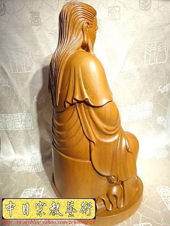 L2915.北極玄天上帝(武當山版本)梢楠木神像雕刻.JPG